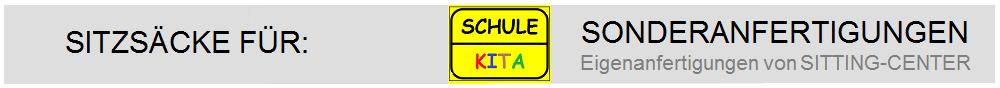 Sitzsäcke Schule Kita